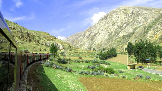 Travel from Lima to Huancayo - Photo @ Fertur