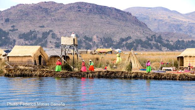 Uros: Floating Islands in Peru