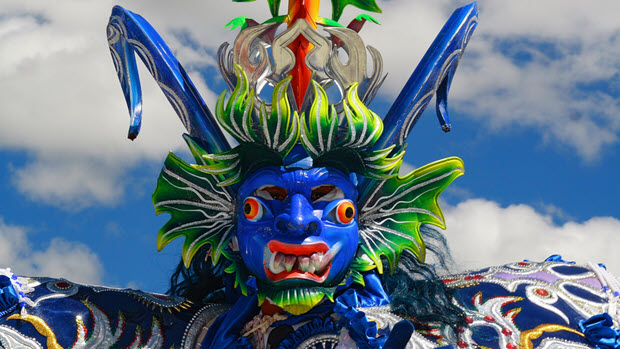 Dancing Devils in Puno: The Masks and Costumes