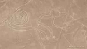 Nazca monkey geoglyph