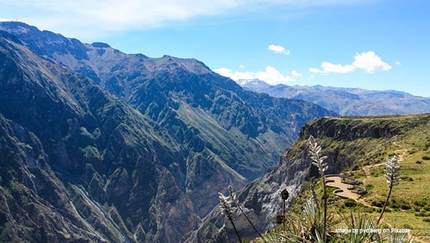 Colca Canyon: Image by pvdberg on Pixabay