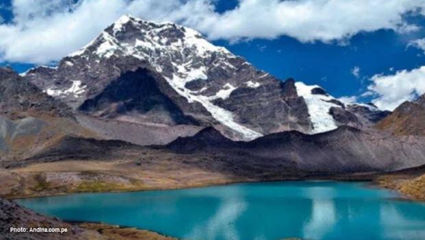 Sibinacocha lagoon - Image courtesy of Andina