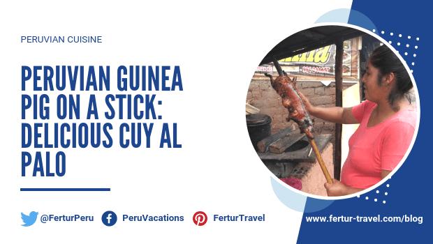 Peruvian Guinea Pig on a Stick