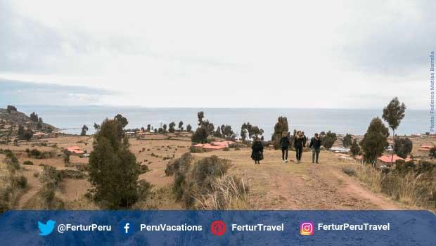 Amantani Island in Lake Titicaca , Peru - Photo by Federico Matias Barreña