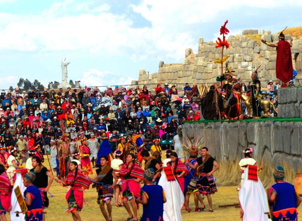 Inti Raymi Festival in Cusco, Peru.