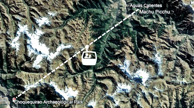 Machu Picchu - Choquequirao connection