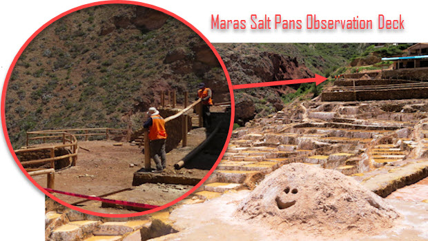 Maras Salt Pans Observation Deck