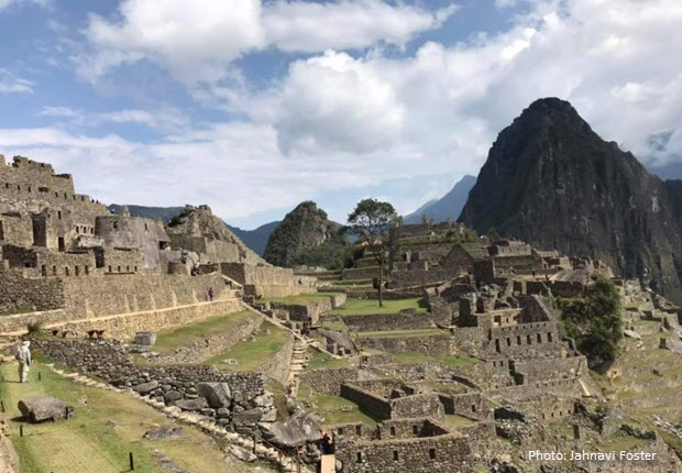 Machu Picchu on a September afternoon after most of the visitors have left.
