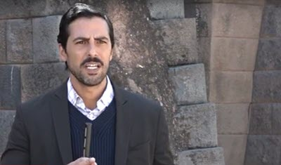 Machu Picchu Historic Sanctuary Park Director Jose Bastante