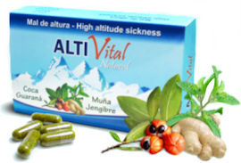 ALTI Vital is a new, natural altitude sickness remedy made in Peru.