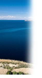 Lake Titicaca, the highest navigable lake in the world