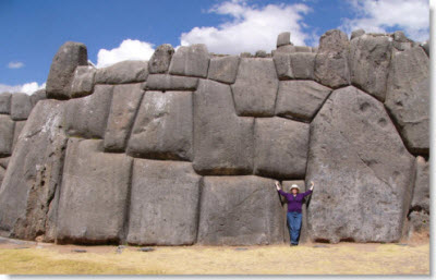 Sacsayhuaman, Cusco: The Ancient Inca Fortress.