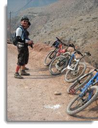 Cusco small group bike tour ~ biking through the Sacred Valley