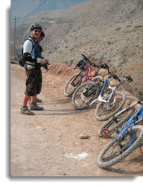 Cusco small group bike tour ~ biking through the Sacred Valley