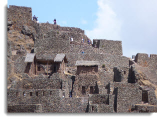 Explore the Inca fortress temple ruins of Pisac as part of your Sacred Valley tour.