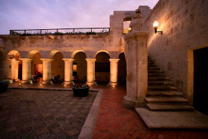 Casa Andina Private Collection Arequipa courtyard
