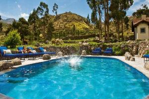 Las Casitas del Colca pool