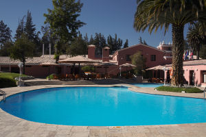 Enorme piscina del Hotel Libertador Arequipa