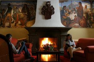 Hotel Libertador Arequipa sala de estar
