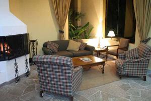 Hatuchay Tower Machu Picchu Hotel lounge