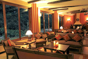 Sumaq Machu Picchu Hotel main hall