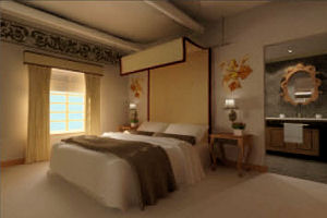 Habitación simple en el Aranwa Sacred Valley