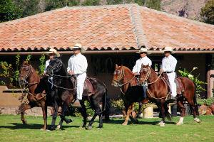 Rancho Wayra con paseos en caballos de paso peruano