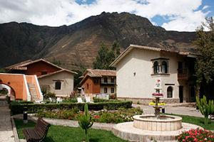 Jardines exteriores del Sonesta Posadas del Inca Yucay - Valle Sagrado en Cusco