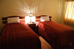 Habitación doble del Apu Huascaran Hostal