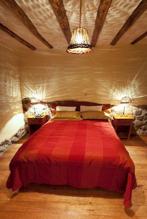 Habitación matrimonial del Apu Huascaran Hostal