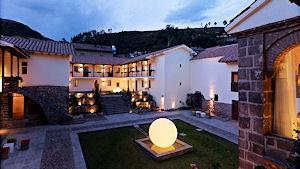 Patio del Casa Cartagena Cusco Hotel y Spa