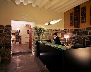 Área de recepción Hotel Casa Cartagena & Spa - Hotel en Cusco