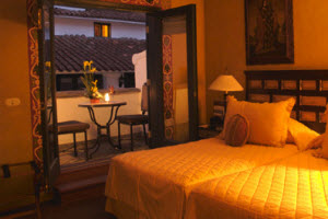 Monasterio Hotel deluxe room