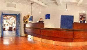 Novotel Hotel Cusco reception