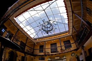tierra viva hotel cusco plaza patio skylight