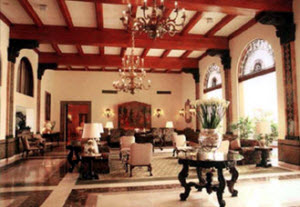 Country Club Hotel lobby