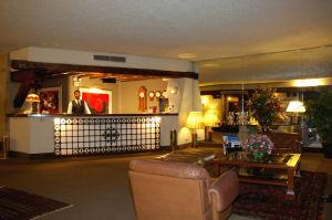 El Hotel Condado Miraflores vestíbulo