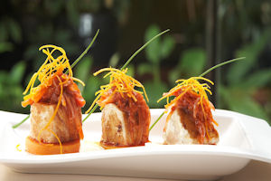 Libertador Lima Hotel gourmet Peruvian cuisine: escabeche corvina (sea bass)