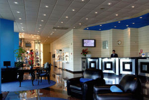 Los Delfines Hotel Lima lobby