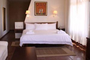 Habitación matrimonial en el Hotel La Hacienda Bahia Paracas