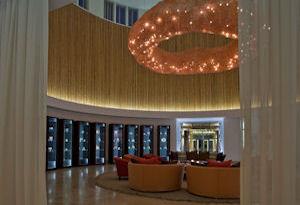 Sala de espera Hotel Libertador Paracas