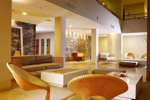 Lobby del Paracas Double Tree by Hilton Hotel & Resort