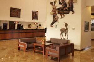 Reception-  Hotel Libertador Lago Titicaca