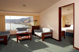 Libertador Lake Titicaca hotel suite