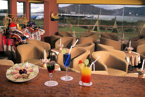 Restaurante del Hotel Sonesta Posadas del Inca - Puno, Perú.