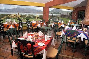 Hotel Sonesta Posadas del Inca Puno fine dining with an extraordinary view of Lake Titicaca