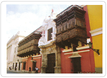 Daily tours of Lima's historic center in groups and in private service.