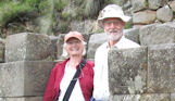 Ann & David Phillips from USA took a tailored-made tour with a local archaeologist in Ayacucho