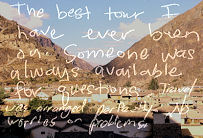 Nicole Ruhland from USA, testimonial about Tour