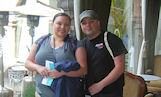 Rick and Jennifer in Cusco on their honeymoon